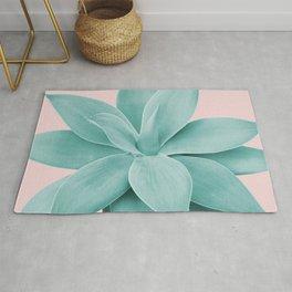Blush Agave Romance #1 #tropical #decor #art #society6 Rug