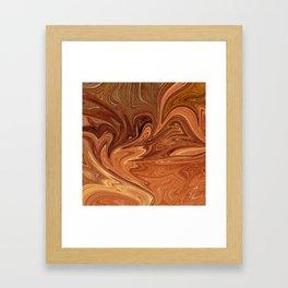 Desert Stone Framed Art Print