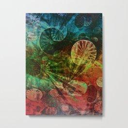 The Secret Life of Plankton Metal Print