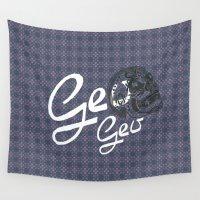 geo Wall Tapestries featuring GEO  by NENE W