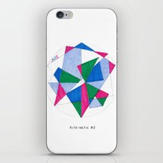 Kite-Netic #2 iPhone & iPod Skin