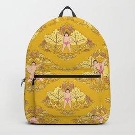宇良 • baby sekitori (yellow) Backpack