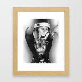 Juvia Framed Art Print