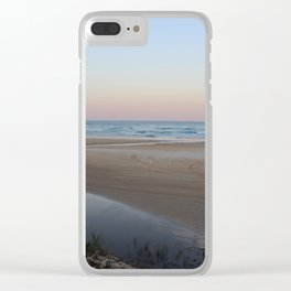 Fraser Island Sunet Clear iPhone Case