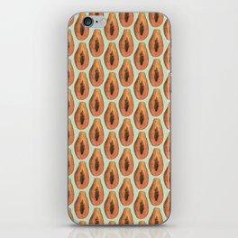 papaya iPhone Skin