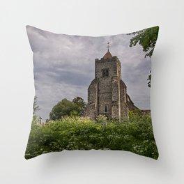 St Peter Firle Throw Pillow