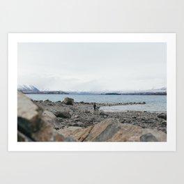 Lake Tekapo I Art Print