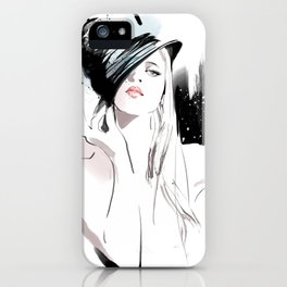 Fashion Painting #5 iPhone Case