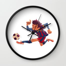 Lionel Messi, Barcelona Jersey Wall Clock