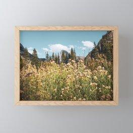 Yosemite Valley II - Cook's Meadow Framed Mini Art Print