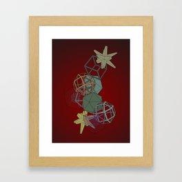 Geo Platonicus Framed Art Print