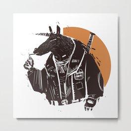 I am the Horseman Metal Print