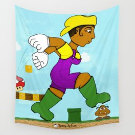 Lauriel: Super Mario Sister Wall Tapestry