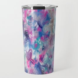 Painted ocean roses Travel Mug