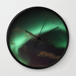 Princess Aurora Borealis Wall Clock