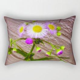 Urban Flower Rectangular Pillow