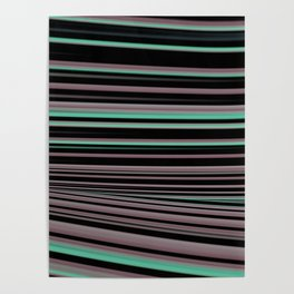 Classy Stripes Poster
