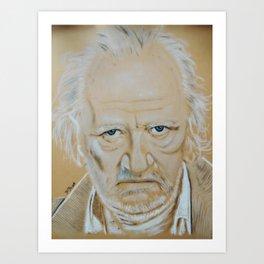 Niels Arestrup Art Print