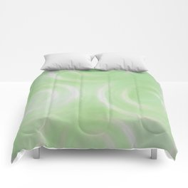 Green Swirlies Comforters