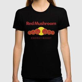Red Mushroom Energy Boost T-shirt