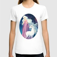 the last unicorn T-shirts featuring The Last Unicorn by Tami Wicinas