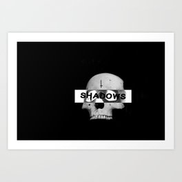 Censored Art Print