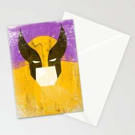 Logan grunge Stationery Cards