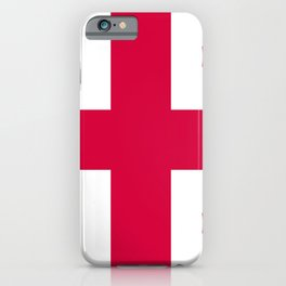 Georgia flag emblem iPhone Case