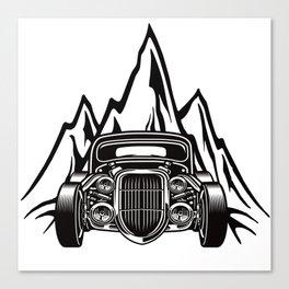 Hotrod with Bergen Custom Car Ami Car Car Canvas Print