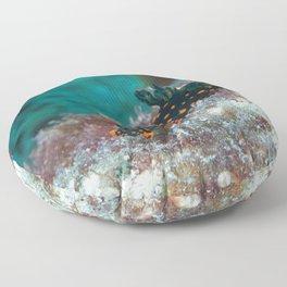 Delightful Nudibranch Floor Pillow