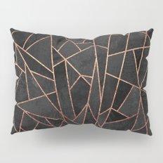 Shattered Black / 2 Pillow Sham