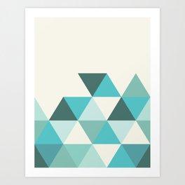 GEO TONE Art Print
