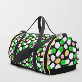 Deadly Pills Pattern Duffle Bag