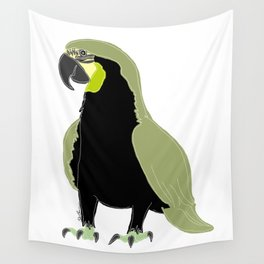 blue or green - who cares? Wall Tapestry