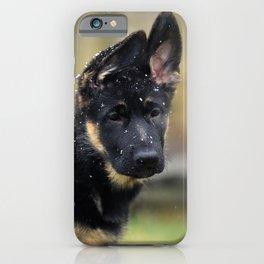 Snowy Shepherd iPhone Case