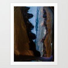 Split in two Art Print
