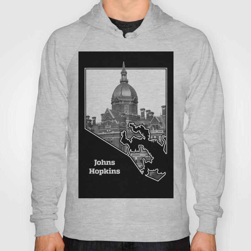 Johns Hopkins Hoody by hopstat