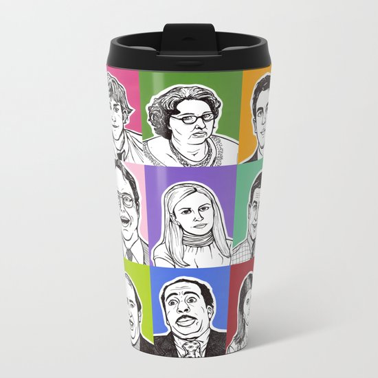 The Office Metal Travel Mug