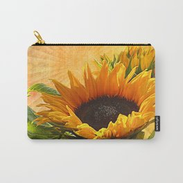 Good Morning Sunflower Carry-All Pouch