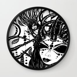 Empress Diva Wall Clock