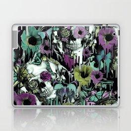 Mrs. Sandman, melting rose skull pattern Laptop & iPad Skin