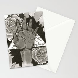 Bright in Black & White Stationery Cards
