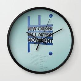 Movement Inspired Wall Clock
