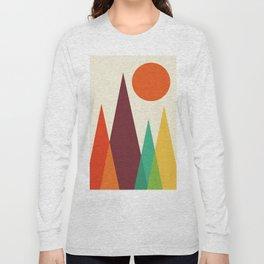 Minimalist landscape III Long Sleeve T-shirt