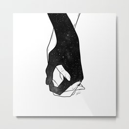 The love will stay. Metal Print