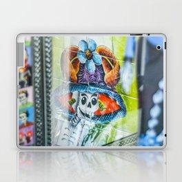 """Day of the Dead Abstract 5"" by Murray Bolesta Laptop & iPad Skin"