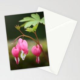 bleeding heart flower Stationery Cards