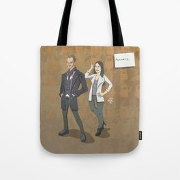 Sherlock and Joan Tote Bag