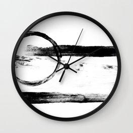 ABSTRACT LIGHT BEAM NO.5 Wall Clock