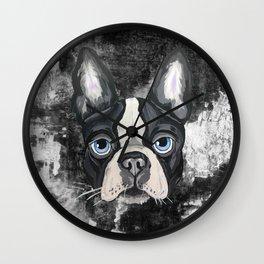 Dog Pout Wall Clock